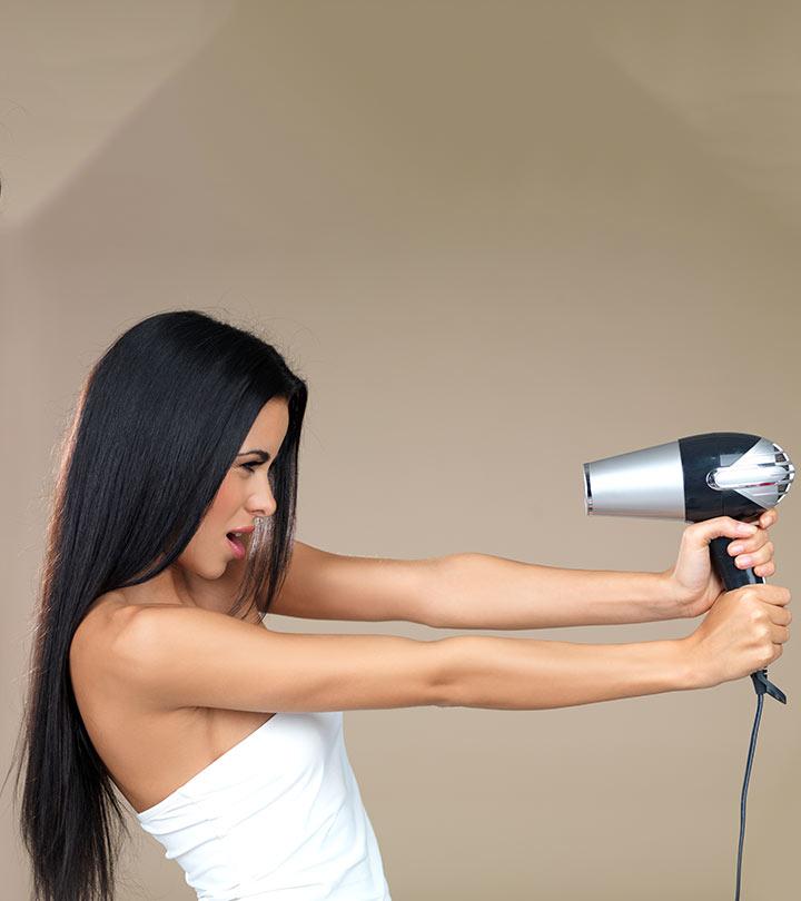 Основные 5 ошибок при сушке и укладке волос феном