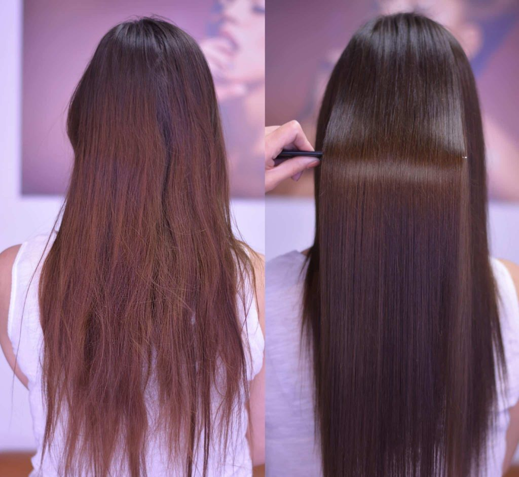 Процедуры для волос в салонах красоты