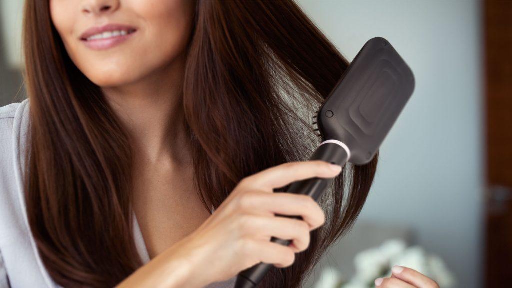 Техника расчесывания волос