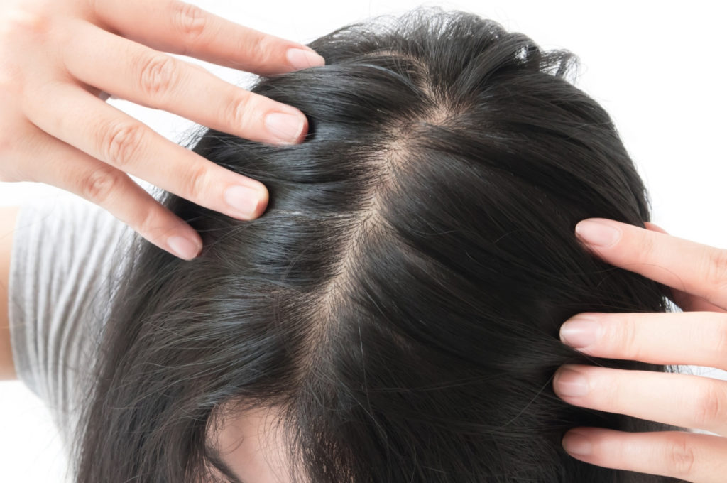 Состав волоса